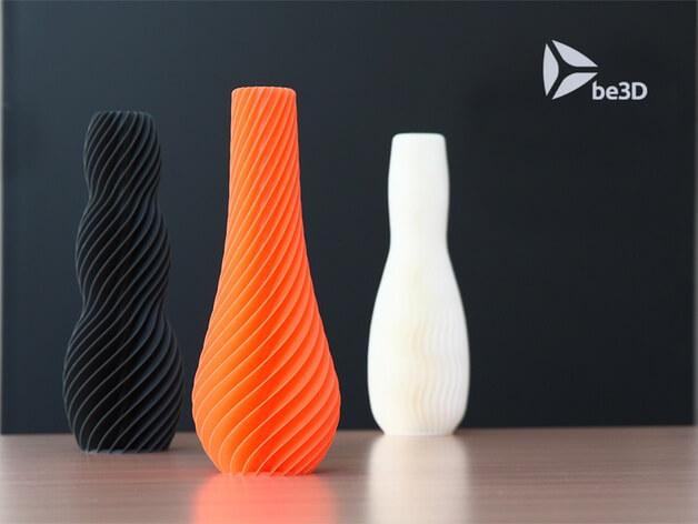3d-modell spiral vase 3d model