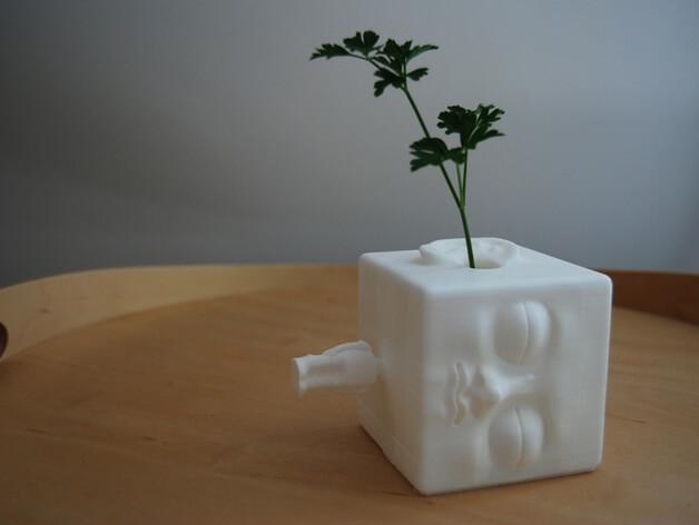 3d-modell vase blockhead 3d model