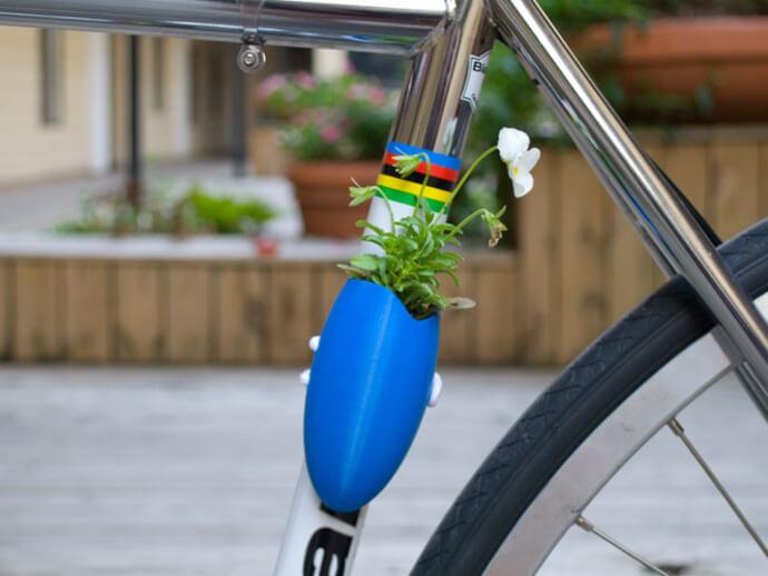 3d-modell vase fahrrad 3d model bike