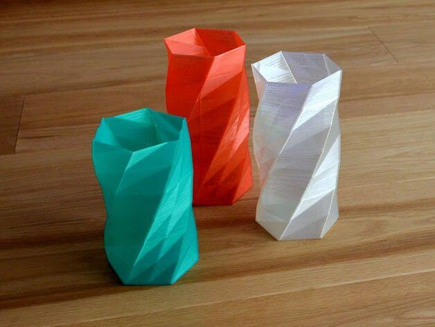 3d-modell vase low polygon 3d model