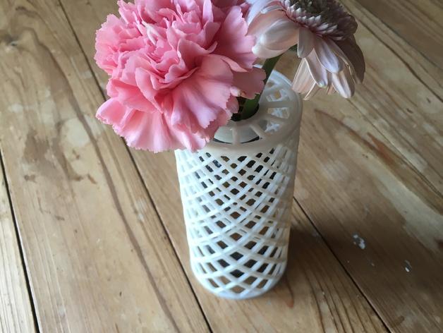 3d-modell vase recycelt 3d model