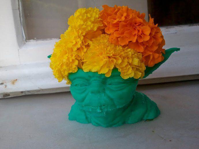 3d-modell vase yoda 3d model