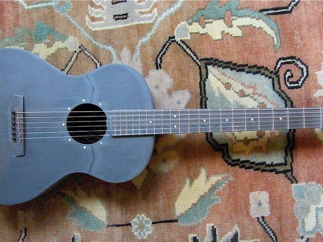3d-gedruckte gitarre 3d printed