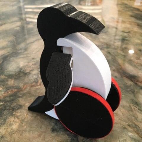 3d-modell pinguin 3d model