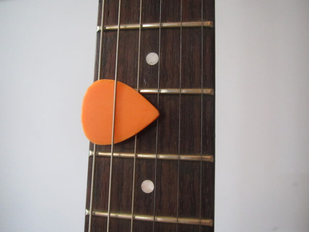 3d-modell plektrum 3d model guitar pick