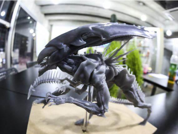 3d-modell alien königin 3d-model alien queen