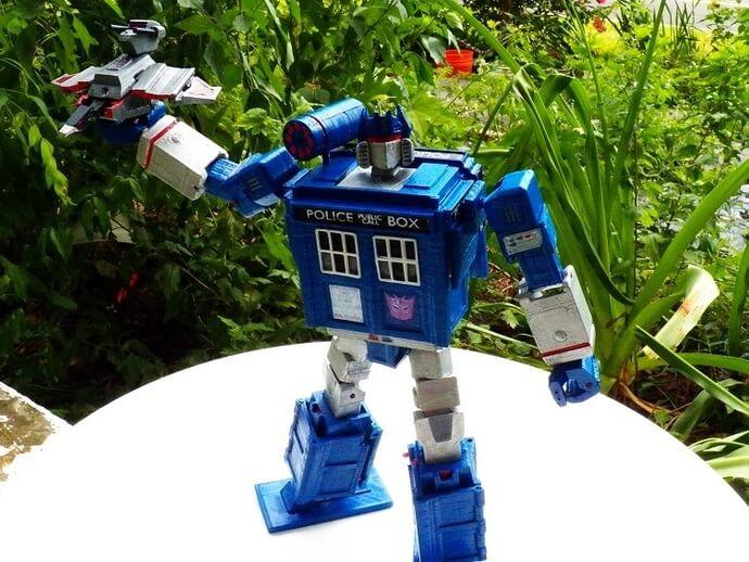 3d-modell transformers tardis 3d model