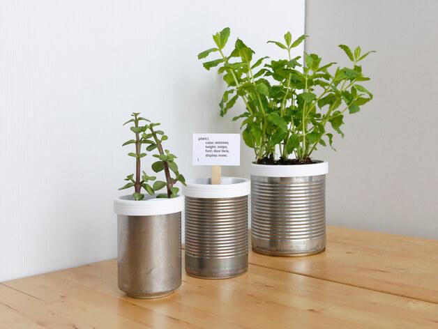 3d druck modell pflanzentopf 3d print model planter