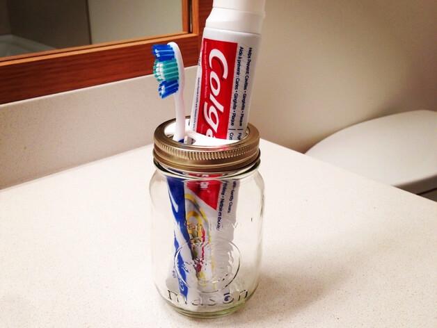 3d druck modell zahnbuerstenhalter 3d print model toothbrush