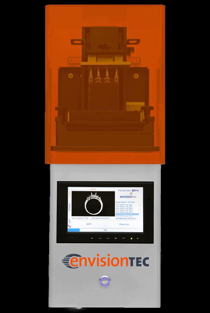 3d-drucker envisiontec micro plus advantage 3d printer