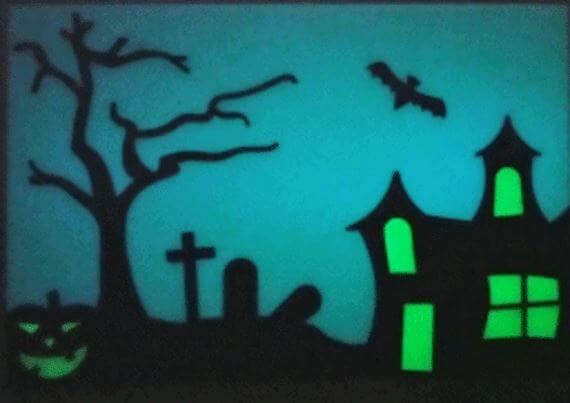 3d-modell halloween fensterdeko