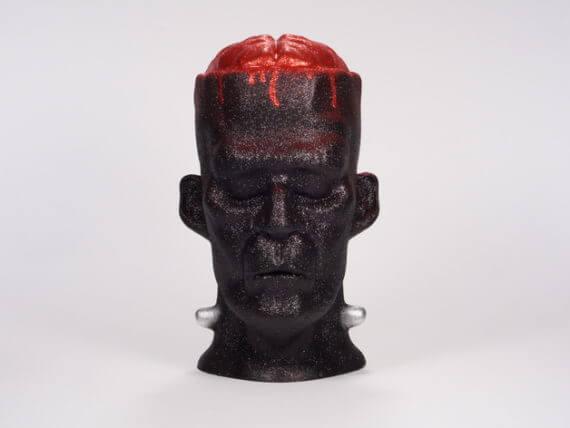 3d-modell halloween frankenstein