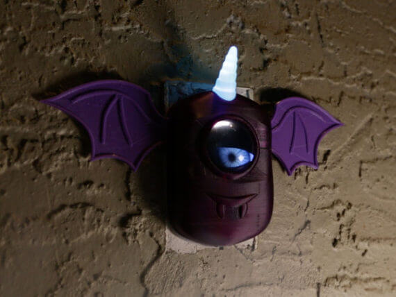 3d-modell halloween türklingel