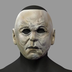 3d-modell michael myer halloween maske mask 3d model