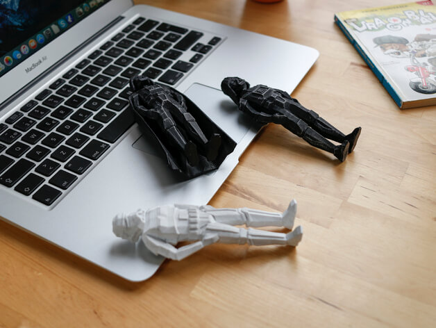 3d-gedruckte star wars figuren flowalistik 3d printed star wars figurines