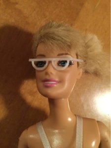 3d-modell barbie brille