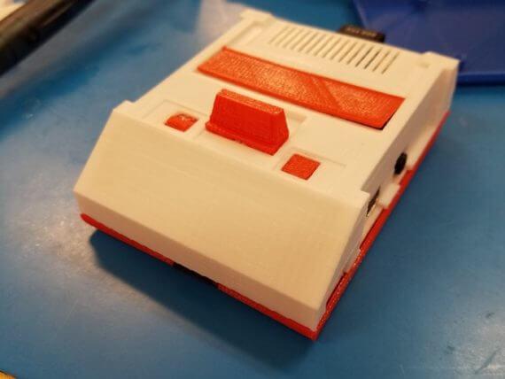 3d-modell raspberry pi famicom