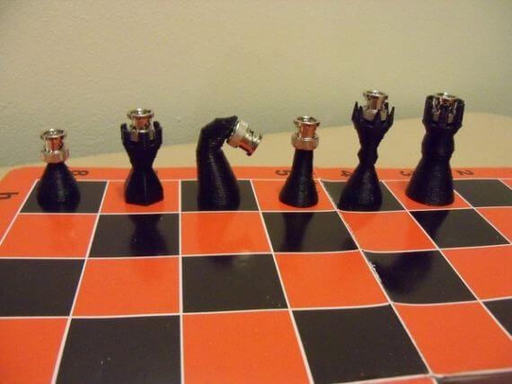 3d-modell schach bnc