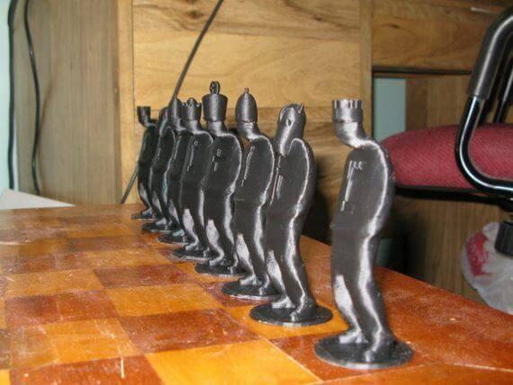 3d-modell schach gangster