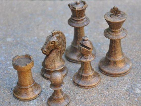 3d-modell schach klassisch