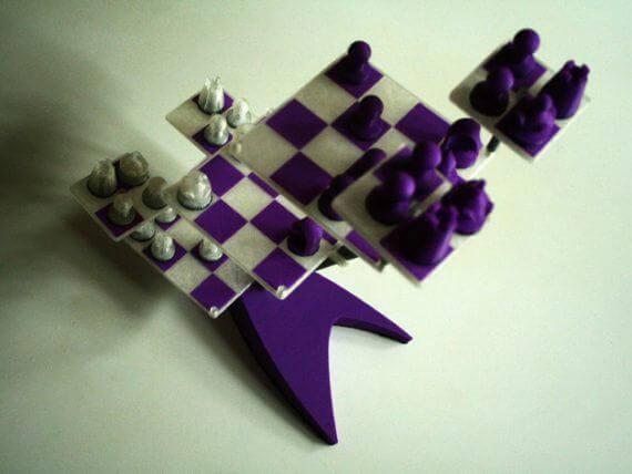 3d-modell schach portabel