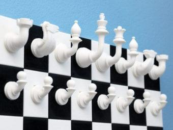 3d-modell schach vertikal