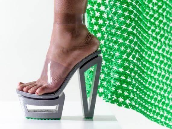 3d-modell schuhe high heels extravagant