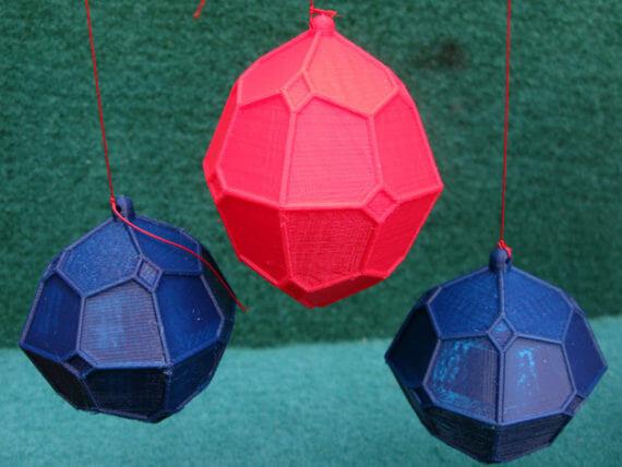 3d-modell christbaumanhänger granaten