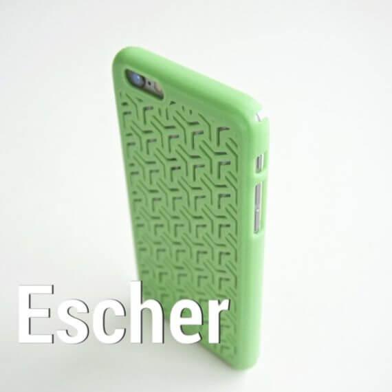 3d-modell escher i-phone huelle