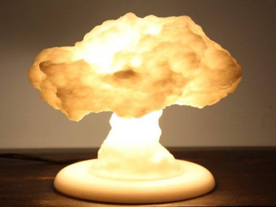 3d-modell lampe atompilz 3d model nuke lamp