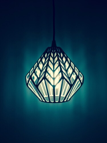 3d-modell lampe lux