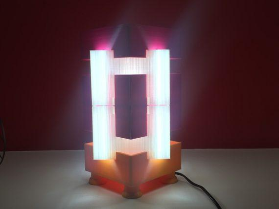 3d-modell lampe origami 3d model lamp