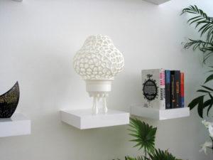 3d-modell lampe rakete