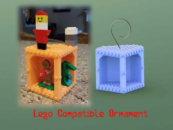 3d-modell lego anhaenger