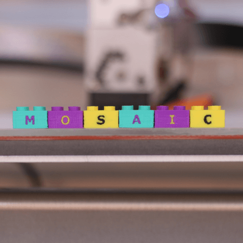 3d-modell lego letters