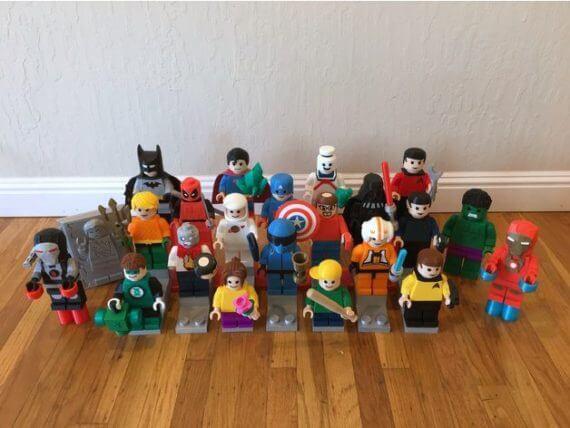 3d-modell lego legofiguren