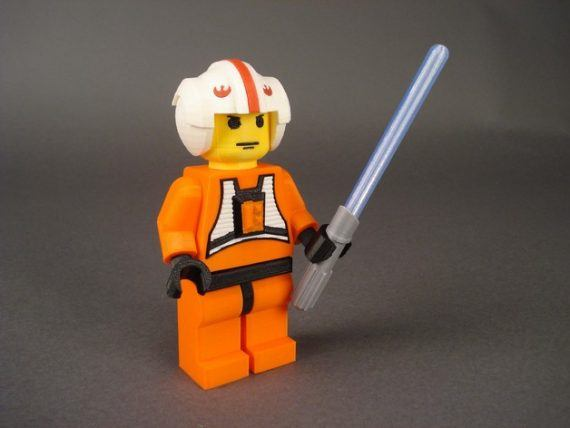 3d-modell lego luke skywalker