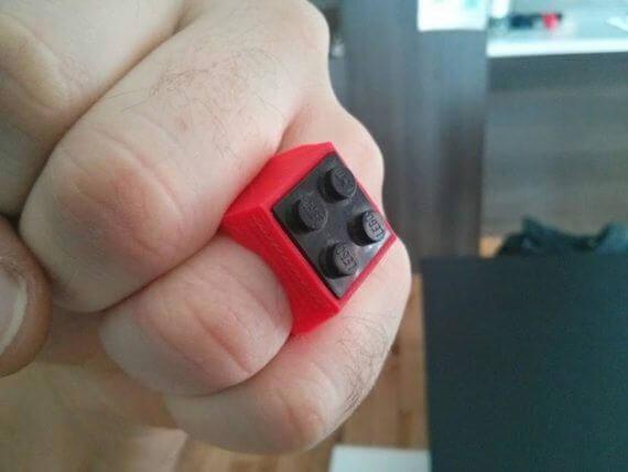 3d-modell lego ring