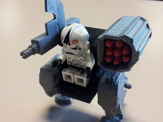 3d-modell lego roboter