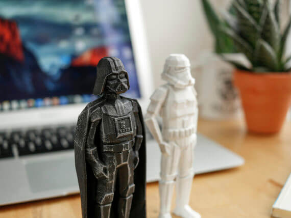 3d-modell low poly space toys star wars