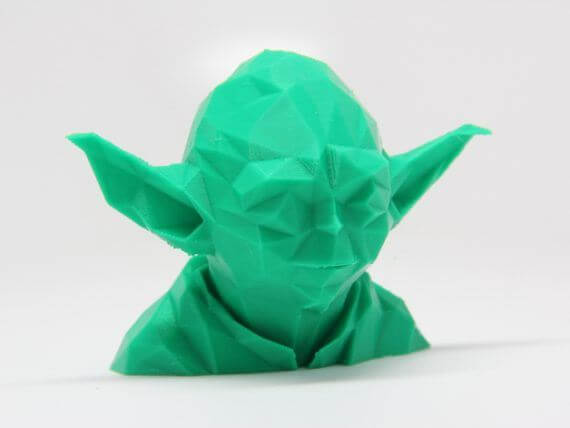 3d-modell low poly yoda
