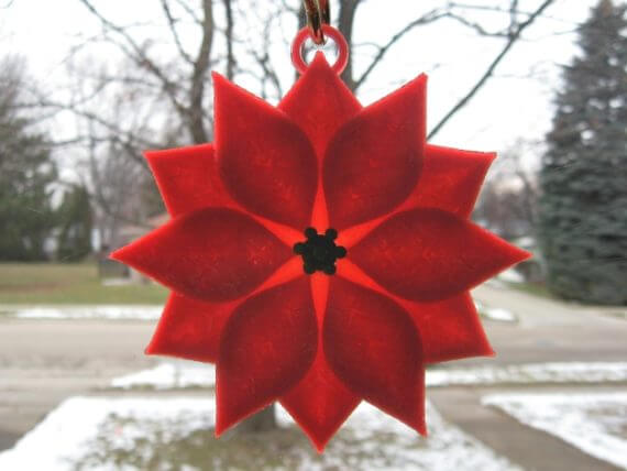 3d-modell weihnachtsdeko adventsstern