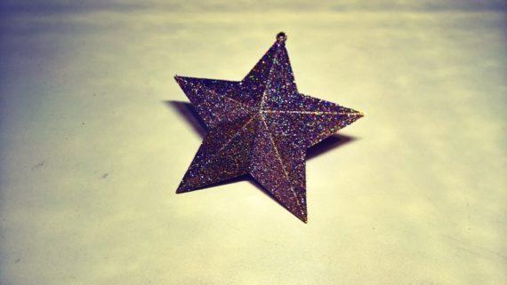 3d-modell weihnachtsdeko glitzerstern