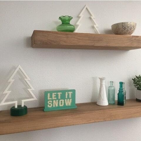 3d-modell weihnachtsdeko minimalistisch