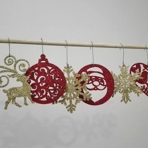 3d-modell weihnachtsdeko ornamente