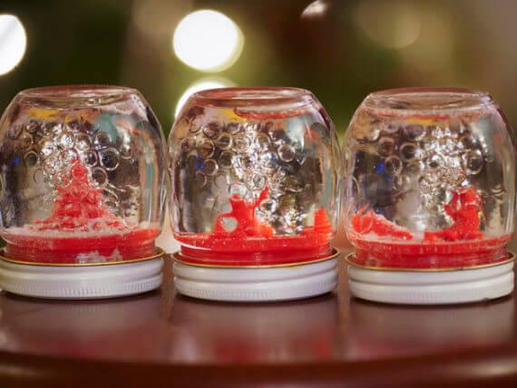 3d-modell weihnachtsdeko schneekugeln