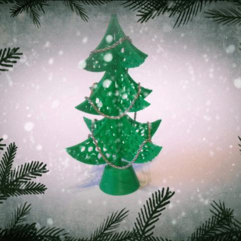 3d-modell weihnachtsdeko weihnachtsbaum