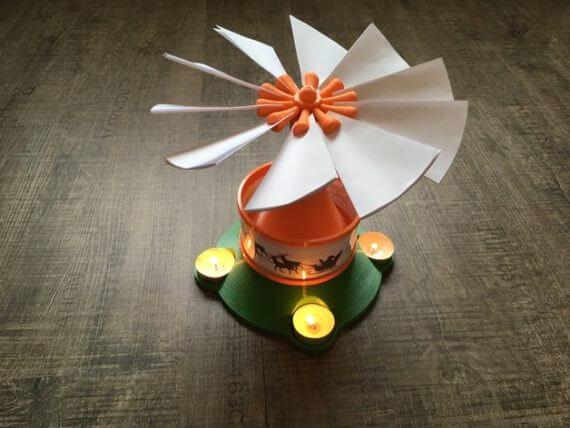 3d-modell weihnachtsdeko weihnachtspyramide