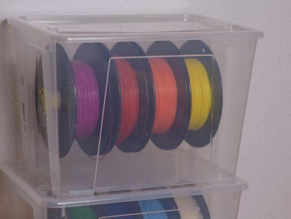 3d-modell filamentboxen