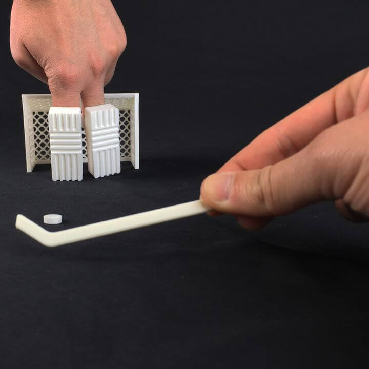 3d-modell finger hockey 3d model